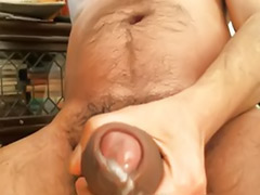 Solo male cumshots, Big cock solo cum