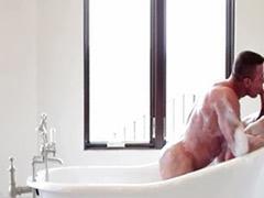 In bath, Gay in bath, Gay blow