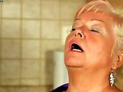 Milf kitchen, Mature blonde, Mature blond, In kitchen, Herself, Kitchen