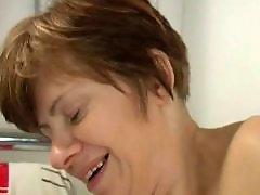 Granny masturbation