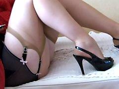 Up stocking, Stockings feet, Stockings amateur, Stockings mature, Mature stockings, Mature stocking feet