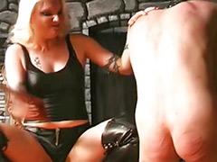Audition, Couple spanking femdom