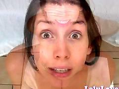 Pov cum, My love, Lelu love, I love cum, Eye, Brunette pov