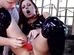 Redhead double, Redhead anal toying, Blowjob comp, Cum comp, Comp