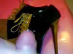 Solo high heels, On male, High heels solo cum, High heels solo, Heels solo, Girlfriend solo