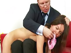 Spanking stockings, Spanking fetish, Bondage stockings, Angry, Boss